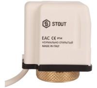 Электротермический сервопривод Stout (норм. закр. 230В)