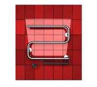 """Полотенцесушитель без полки электрический ДВИН HD S 40/60 (3/4"""" K Hitze полированный)"""