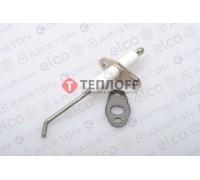 Электрод ионизации + прокладка Ariston 64201339