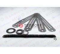 Прокладки нижние (комплект) r604/5/6/7 Ariston 64201898