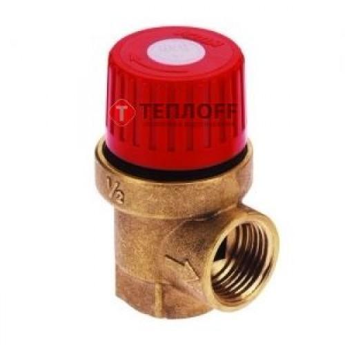 """Предохранительный клапан мембранный. Внут/внут. резьба 1,5 ATM (ICMA Италия) 1/2"""""""