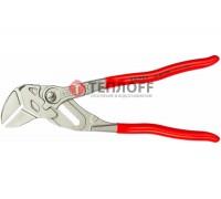 Клещи переставные - гаечный ключ, ручки 15гр,46мм (1 3/4)  (KN-8643250) KNIPEX