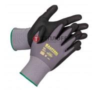 Перчатки эласт.со вспененным нитриловым покрытием KRAFTOOL EXPERT, размер L (11285-L)