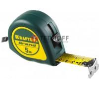 Рулетка с ударостойким корпусом (ABC) 5м/25мм KRAFTOOL GRAND (34022-05-25)