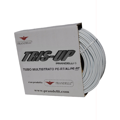 Труба Prandelli TRIS-UP Tubo Multistrato PE-RT/AL/PE-RT
