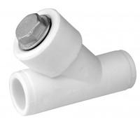 Фильтр PPR внутреннее/внутреннее присоединение 32*45, белый, РТП (25/5)