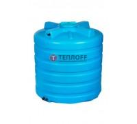 Бак для воды Aquatech ATV 1500b (синий) с поплавком
