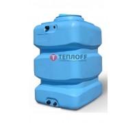 Бак для воды Aquatech Quadro W 750 (синий) с поплавком