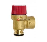 Гидравлический предохранительный клапан Baxi 3бар 9951170