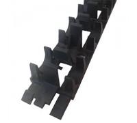 Шина фиксирующая,для монтажа труб теплого пола ( для 16 и 20мм)